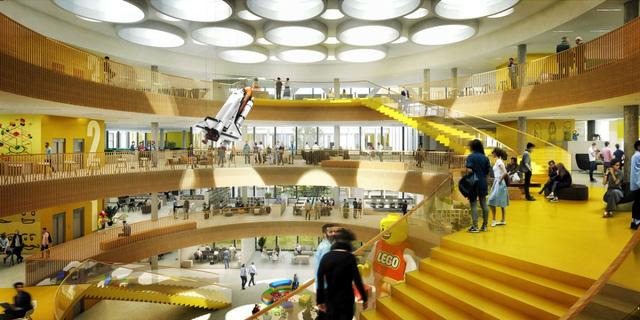 Chiêm ngưỡng trụ sở tuyệt đẹp mới của LEGO, trông như đồ chơi cỡ lớn - Ảnh 7.