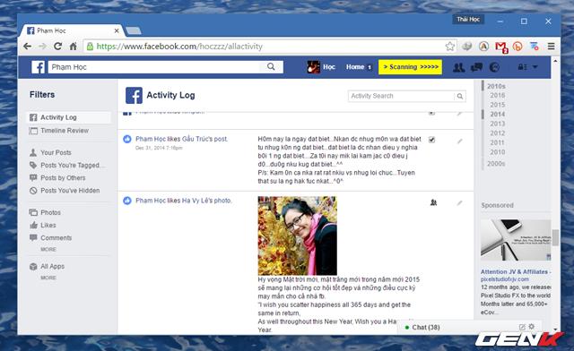 Hướng dẫn dọn sạch tường Facebook để đảm bảo không ai soi mói, đánh giá - Ảnh 7.