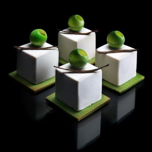 Bộ sưu tập bánh ngọt kỳ thú lấy cảm hứng từ bộ môn hình học - Ảnh 7.