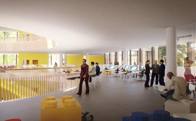 Chiêm ngưỡng trụ sở tuyệt đẹp mới của LEGO, trông như đồ chơi cỡ lớn - Ảnh 8.