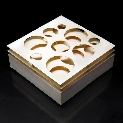 Bộ sưu tập bánh ngọt kỳ thú lấy cảm hứng từ bộ môn hình học - Ảnh 8.