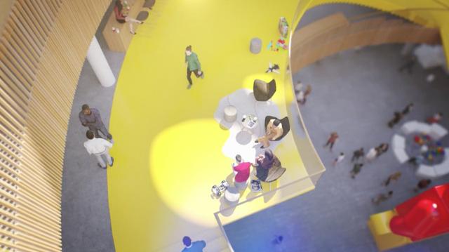 Chiêm ngưỡng trụ sở tuyệt đẹp mới của LEGO, trông như đồ chơi cỡ lớn - Ảnh 9.