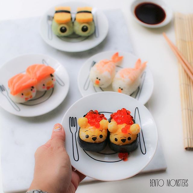 Bộ sưu tập sushi cực dễ thương khiến bé chẳng bao giờ từ chối bữa ăn - Ảnh 10.