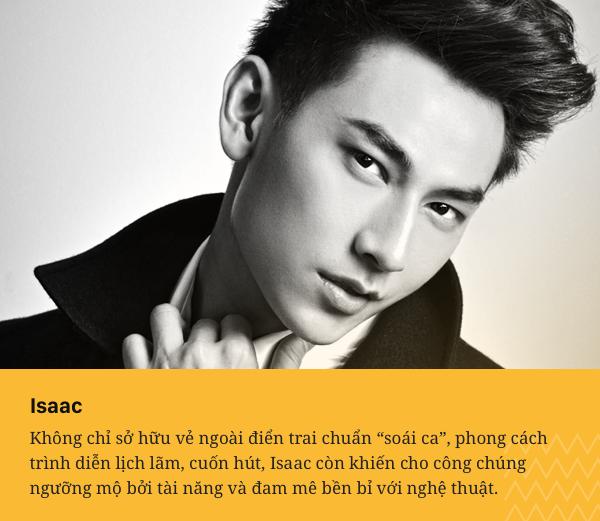 """Isaac - từ thí sinh """"trượt vỏ chuối"""" đến """"Thái tử"""" đa năng của showbiz Việt - Ảnh 2."""