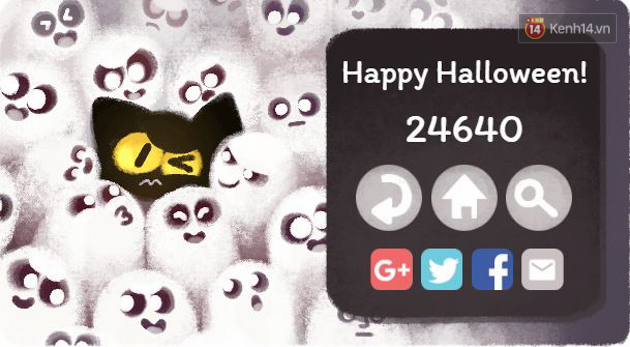 Google chào lễ hội Halloween với trò Pháp sư mèo diệt ma, bạn đã thử chưa? - Ảnh 7.