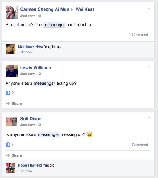 Facebook Messenger gặp lỗi, bất ngờ bị sập mạng - Ảnh 2.