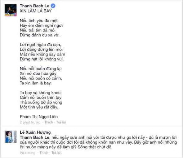 Xuân Hương lên tiếng đáp trả Thanh Bạch: Cảm ơn ông đã giải thoát cho tôi được làm người - Ảnh 1.