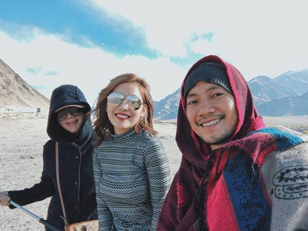 Hé lộ hình ảnh hạnh phúc của Tiến Đạt và bạn gái tin đồn trong chuyến du lịch Ấn Độ - Ảnh 2.