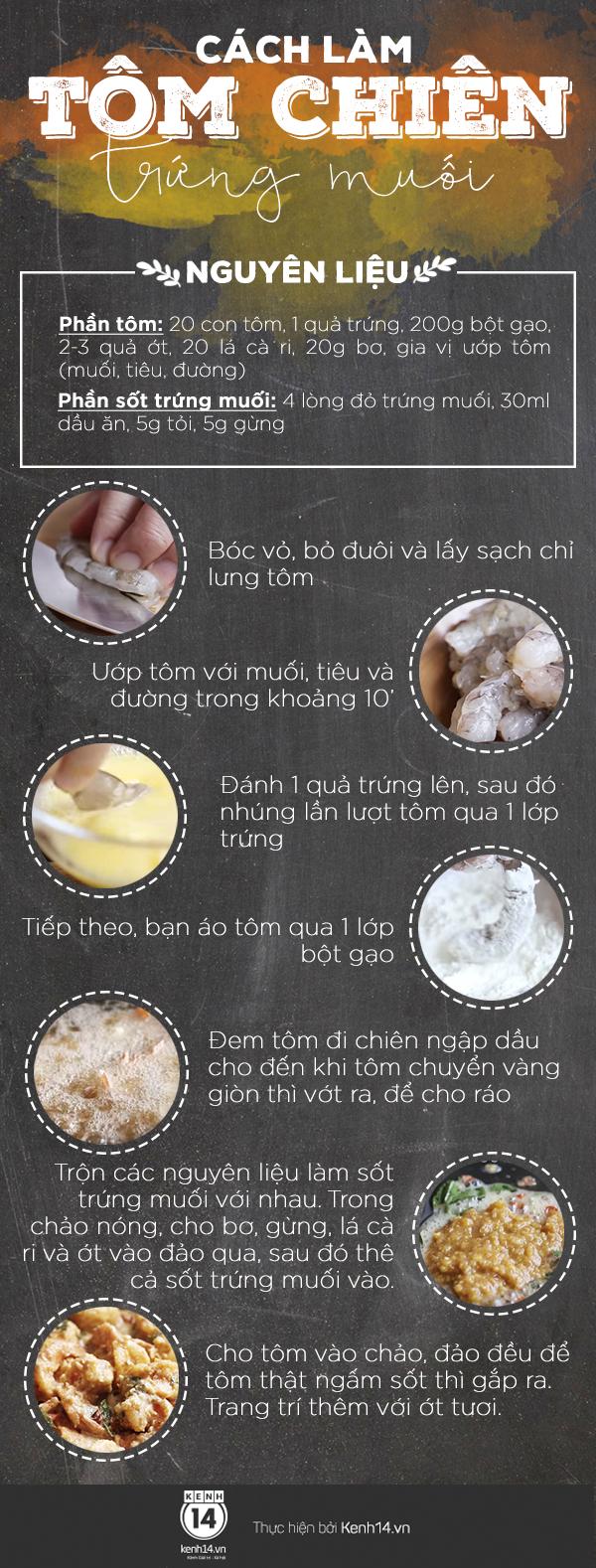 Ăn tôm chiên trứng muối mằn mặn đưa cơm quá ngon - Ảnh 2.