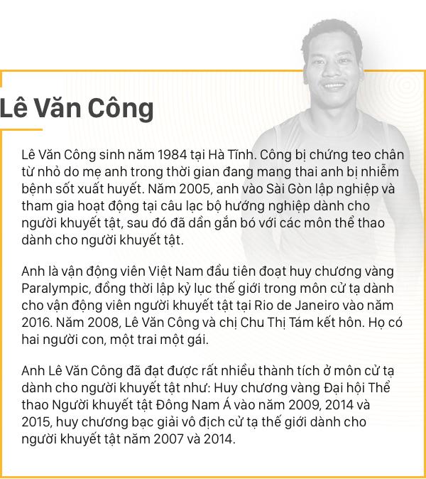 """Lê Văn Công - """"Khi ý thức được mình thiếu đôi chân thì đôi tay tôi đã mạnh mẽ lắm rồi!"""" - Ảnh 1."""