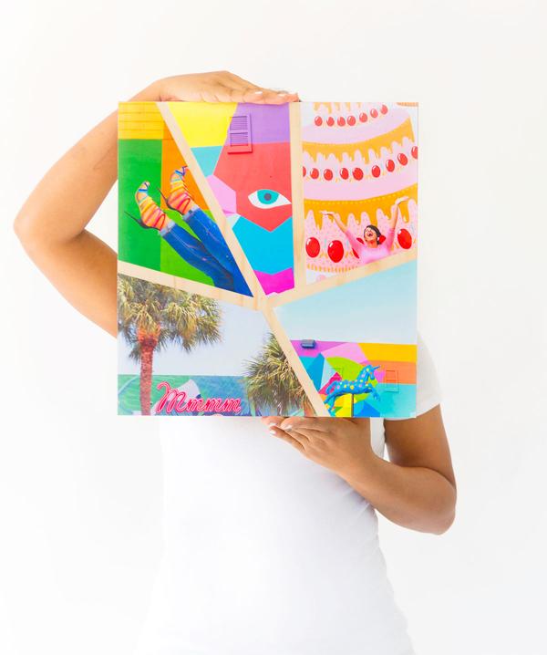 Tự làm album ảnh theo kiểu tranh treo tường độc đáo - Ảnh 12.