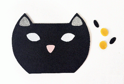 Tự may túi mèo mun cực yêu từ vải dạ - Ảnh 4.