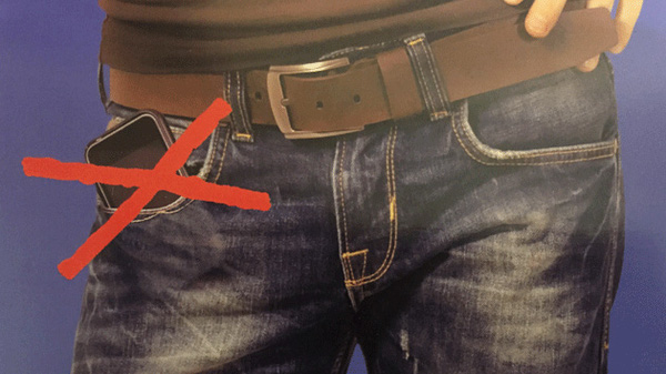 Đây là lý do vì sao nam giới tuyệt đối không nên để điện thoại nơi túi quần - Ảnh 1.