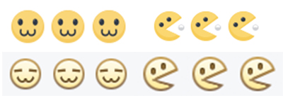 Biểu tượng :v và :3 trên Facebook bất ngờ hồi sinh với hình hài bựa không chịu được - Ảnh 3.