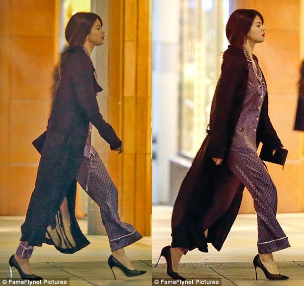 Selena Gomez chứng minh: Đã đẹp thì mặc đồ ngủ ra đường cũng đẹp! - Ảnh 2.