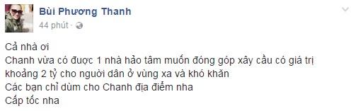 Các sao Việt cũng đang cùng chung tay giúp đỡ đồng bào lũ lụt miền Trung - Ảnh 4.