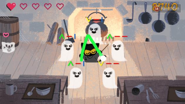Google chào lễ hội Halloween với trò Pháp sư mèo diệt ma, bạn đã thử chưa? - Ảnh 3.