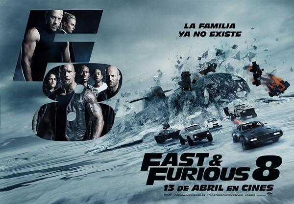 Phim của Địch Lệ Nhiệt Ba khóc ròng vì bị Fast & Furious 8 đè bẹp - Ảnh 2.