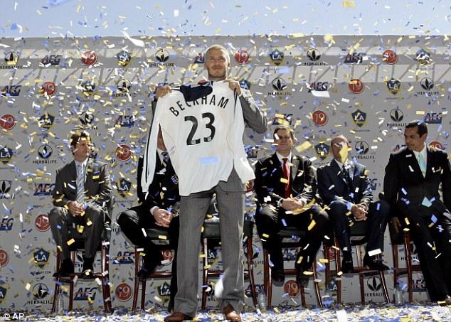 Tròn 10 năm Beckham đến Mỹ và sứ mạng nâng tầm giải MLS - ảnh 1
