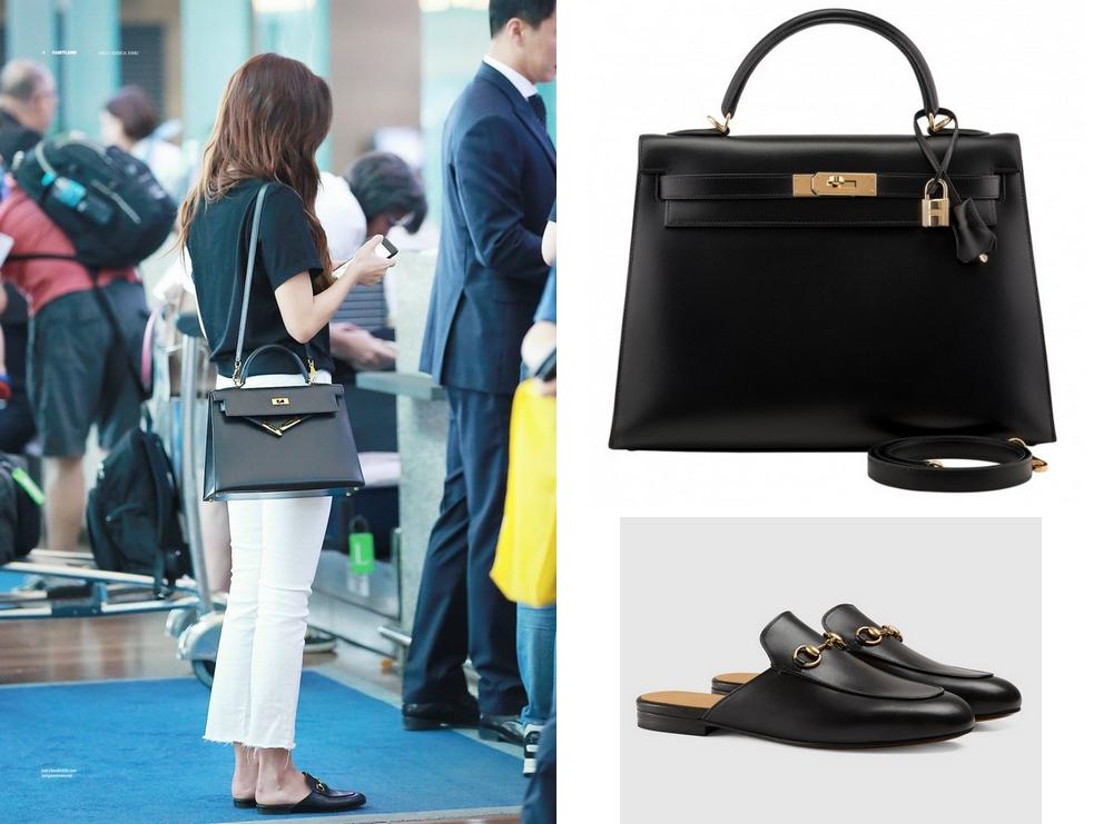 Sao Hàn: Bóc mác vali đồ sang xịn pha lẫn bình dân của Jessica Jung trong chuyến ghé thăm Việt Nam