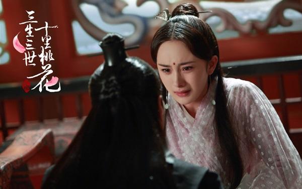"""Xé lòng với những cảnh thương tâm của Dương Mịch – Triệu Hựu Đình trong """"Tam Sinh Tam Thế"""" - Ảnh 5."""