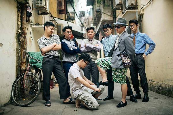 Ảnh kỷ yếu kiểu bao cấp không thể chất hơn của teen Chu Văn An - Ảnh 1.