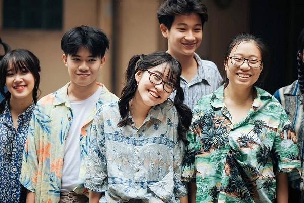 Ảnh kỷ yếu kiểu bao cấp không thể chất hơn của teen Chu Văn An - Ảnh 4.