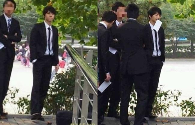 Có ai như Song Joong Ki: Thời sinh viên toàn bị chụp lén và hình nào cũng giống bìa tạp chí - Ảnh 9.