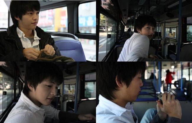 Có ai như Song Joong Ki: Thời sinh viên toàn bị chụp lén và hình nào cũng giống bìa tạp chí - Ảnh 1.