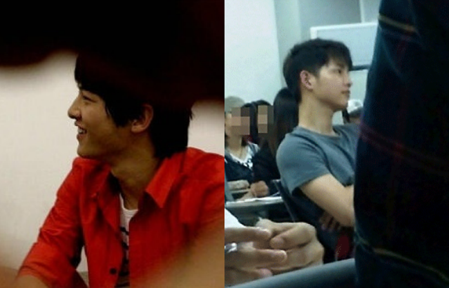 Có ai như Song Joong Ki: Thời sinh viên toàn bị chụp lén và hình nào cũng giống bìa tạp chí - Ảnh 3.