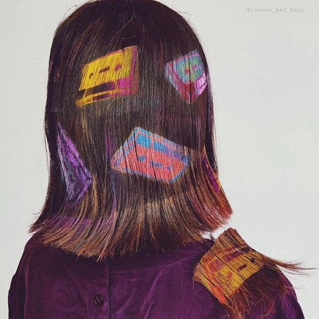 Ngắm những bức tranh vẽ trên tóc, bạn sẽ ngỡ mình đang lạc vào triển lãm nghệ thuật - Ảnh 15.
