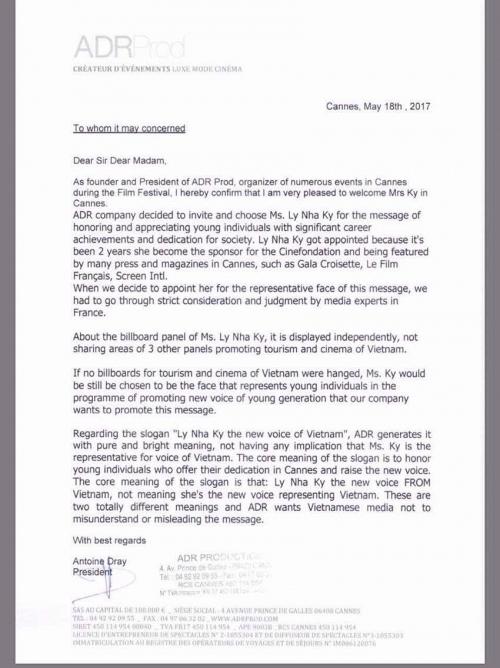 Thứ trưởng Bộ VH-TT&DL khẳng định Lý Nhã Kỳ không vi phạm khi xuất hiện trên panel tại LHP Cannes - Ảnh 3.