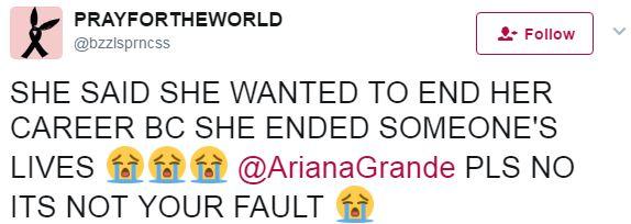 Ariana Grande gào khóc, muốn kết thúc sự nghiệp vì đã khiến người khác phải mất mạng? 3