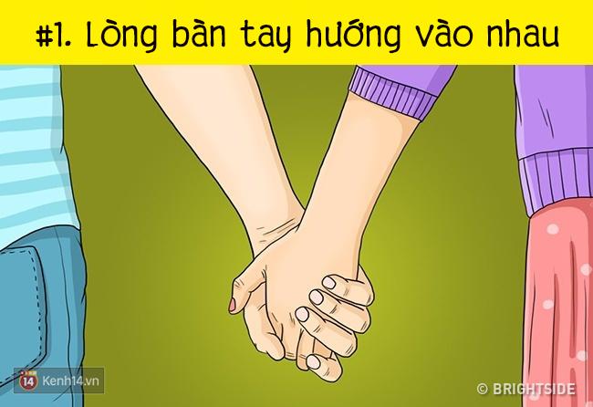 Check nhanh 7 kiểu nắm tay cho biết hai bạn yêu nhau đến mức nào - Ảnh 1.