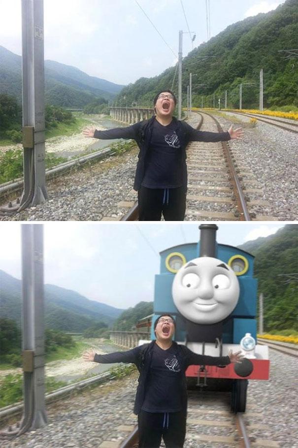Các thánh photoshop Hàn Quốc ra tay hiệp nghĩa sửa ảnh hộ và cái kết bựa đừng hỏi - Ảnh 1.