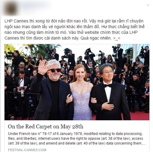 Lý Nhã Kỳ là nghệ sĩ Việt duy nhất có tên trong danh sách khách mời tại lễ bế mạc LHP Cannes! - Ảnh 1.