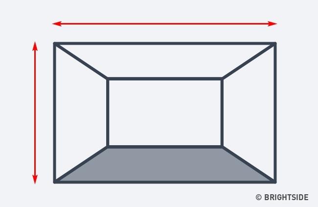 7 cách hô biến căn phòng của bạn trở nên rộng lớn hơn chỉ nhờ ảo ảnh thị giác - Ảnh 1.