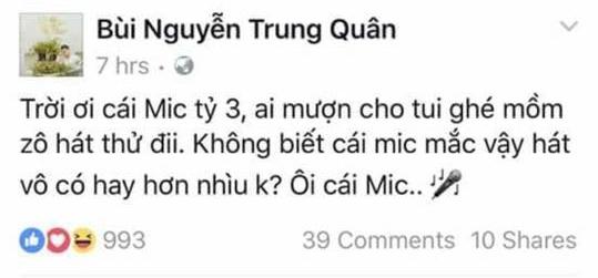 Sau Rocker Nguyễn, đến lượt Trung Quân Idol lên tiếng xin lỗi vì bị fan cho rằng cạnh khoé mic 1 tỷ 3 của Jessica - Ảnh 1.