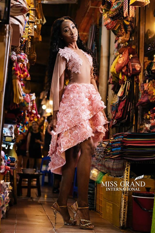Khoan bàn đến Huyền My, hình như BTC Miss Grand International có sở thích đặc biệt với những chiếc cột? - Ảnh 3.