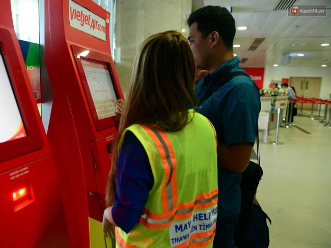 Check in lưu động, phân loại hàng khách làm thủ tục để giảm ùn tắc đường hàng không - ảnh 9