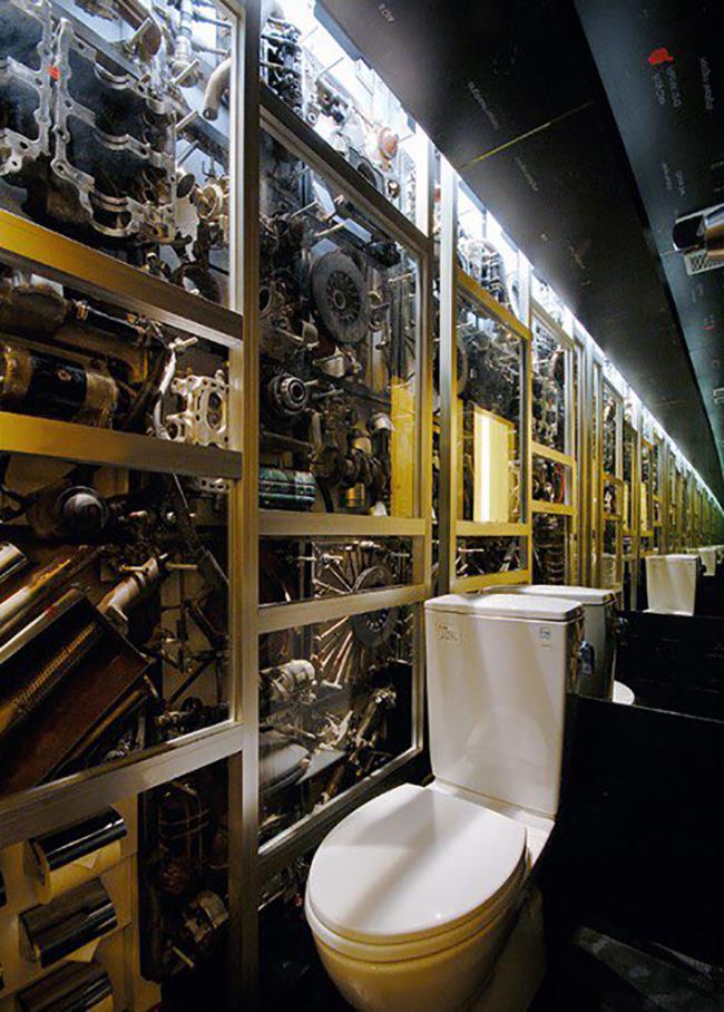 Ngắm nhìn 10 công trình nhà vệ sinh kì quặc nhất ở Nhật Bản - Ảnh 3.