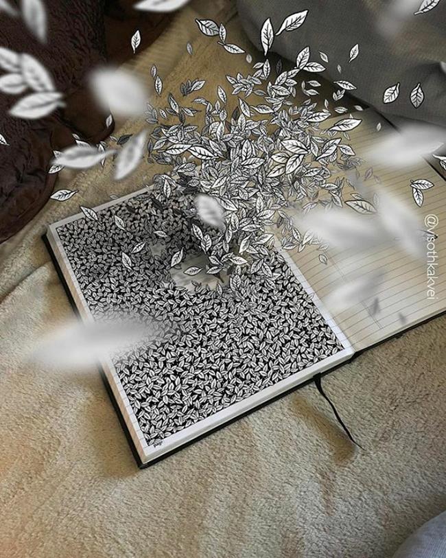 Bộ sưu tập những bức vẽ 3D chỉ là ảo mà cứ ngỡ như thật - Ảnh 13.