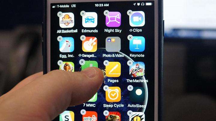 Cách di chuyển hàng loạt ứng dụng chỉ trong nháy mắt trên iOS 11