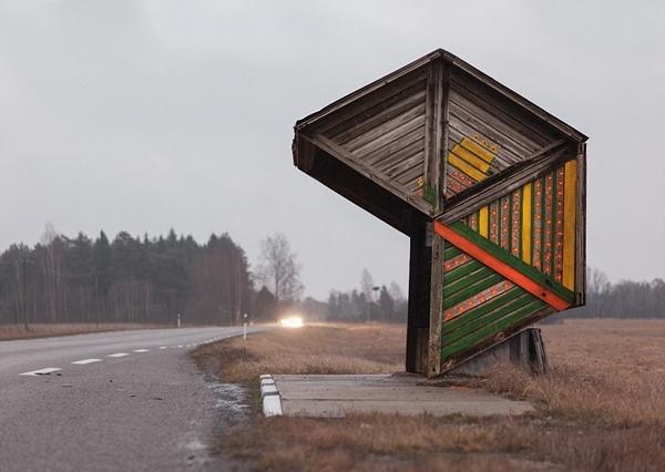 Chùm ảnh: Những trạm chờ xe buýt cực ấn tượng từ thời Liên Xô cũ - Ảnh 11.