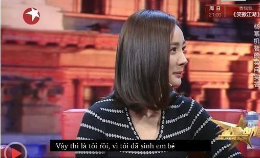 Dương Mịch đáp trả câu hỏi đã động chạm dao kéo cực xuất sắc và khôn khéo! - Ảnh 6.