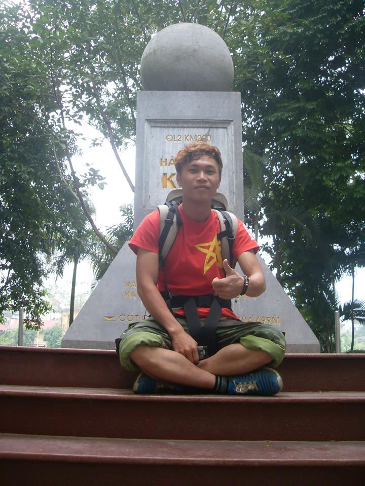 Du lịch: Chàng trai đi bộ xuyên Việt từ Lũng Cú đến Cà Mau trong 89 ngày với 15 triệu