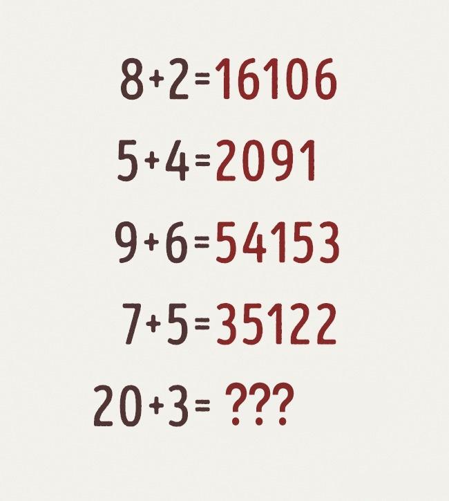 Đố bạn giải được phép cộng logic làm khó 90% dân số