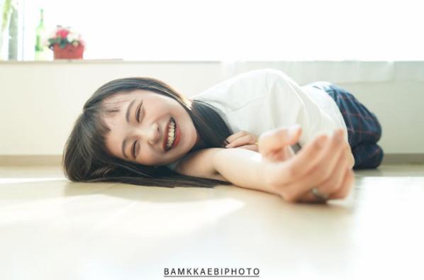 Để tóc Bok Joo, ảnh nào cũng cười híp hết cả mắt - ngắm cô bạn Hàn Quốc này thấy vui ghê! - Ảnh 18.