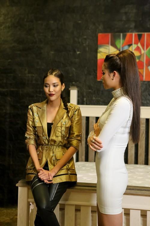 Gặp lại cố nhân Lan Khuê tại The Look, Phạm Hương cũng chẳng phải kiêng nể gì - Ảnh 4.