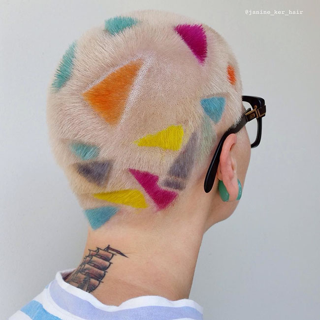 Ngắm những bức tranh vẽ trên tóc, bạn sẽ ngỡ mình đang lạc vào triển lãm nghệ thuật - Ảnh 11.